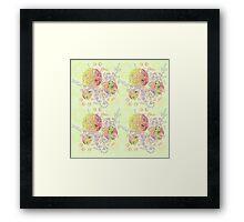 Lollipop Mandalas Framed Print