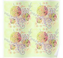 Lollipop Mandalas Poster
