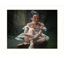 The Ballerina Art Print
