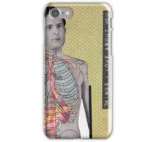 Vintage Anatomy Love iPhone Case/Skin