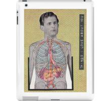 Vintage Anatomy Love iPad Case/Skin