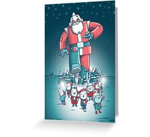 Robo-Santa Card Greeting Card