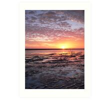 Nudgee Beach Winter Sunrise Art Print