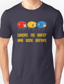 Where no Sheep Has Gone Before T-Shirt