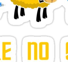 Where no Sheep Has Gone Before Sticker