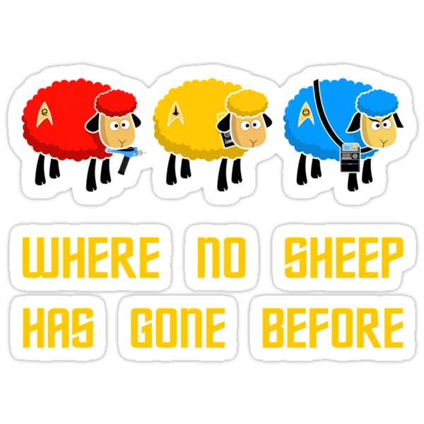 Where no Sheep Has Gone Before by sirwatson