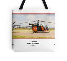 Allouette - armée de TERRE Tote Bag