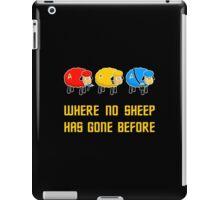 Where no Sheep Has Gone Before iPad Case/Skin
