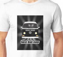Best Dad Ever Black Sunburst Early Bay Unisex T-Shirt