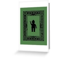 PARISIAN WAVE, by Customize My Minifig Greeting Card