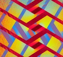 Folding colors Sticker