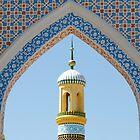 Minaret in Kashgar by joewdwd