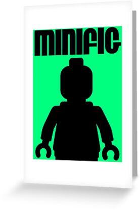 Retro Large Black Minifig, Customize My Minifig by Customize My Minifig