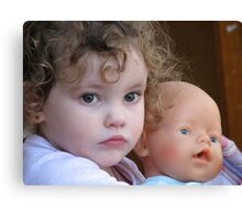 Eulalie and Dolly Canvas Print