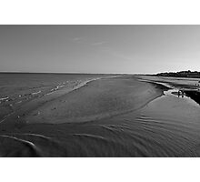 Bridlington beach Photographic Print