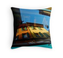 Bologna reflections Throw Pillow