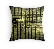 Who's behind bars? Throw Pillow