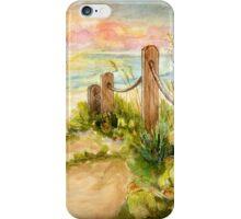 Beach Post Sunrise iPhone Case/Skin