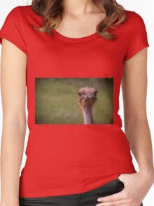 Here's Looking at You! Women's Fitted Scoop T-Shirt