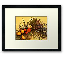 """Bird On A Wire"" Framed Print"