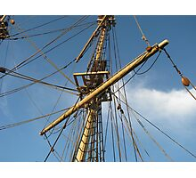 """Ships Rigging"" Photographic Print"