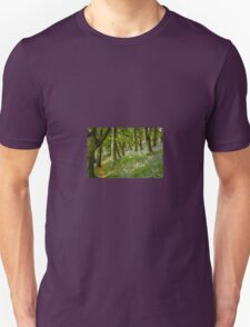 Bluebell Wood Unisex T-Shirt