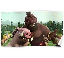 Clash of Clans Poster Art Poster