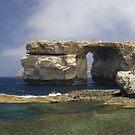 The Azure Window by lukefarrugia