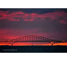 Inlet Bridge | Fire Island, New York  Photographic Print