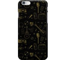 Music Silhouette  iPhone Case/Skin