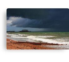 Colour of a storm  Canvas Print