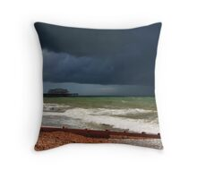 Colour of a storm  Throw Pillow