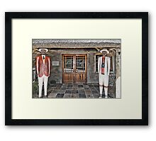 Welcome in Party Framed Print