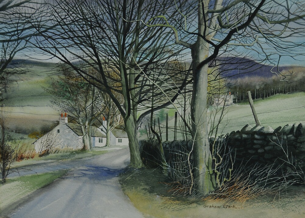 Derbyshire Lane by Graham Clark