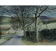 Derbyshire Lane Photographic Print