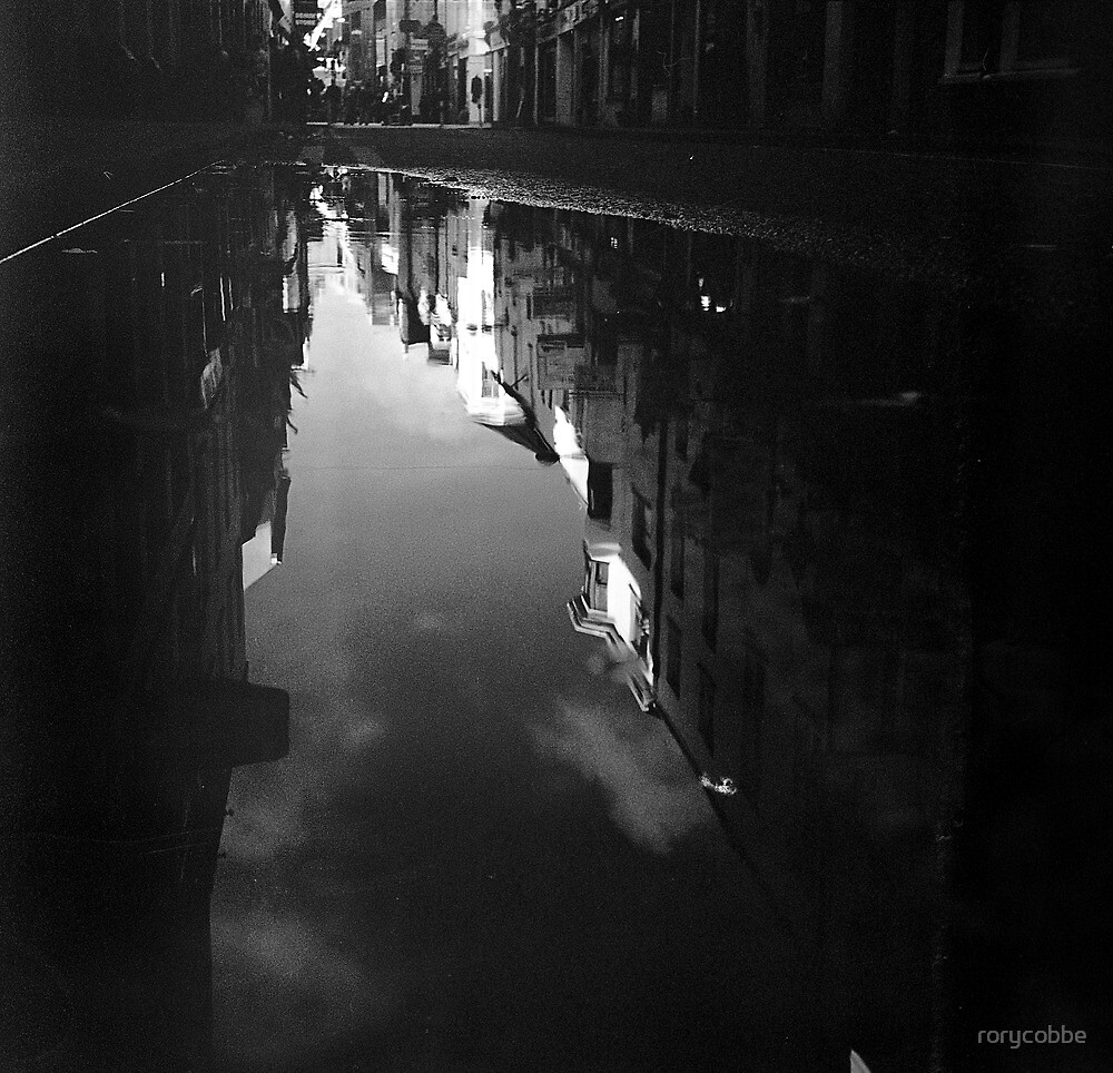 Cook Street Under Water by rorycobbe