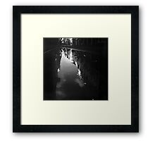 Cook Street Under Water Framed Print