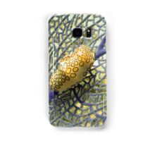 Flamingo Tongue Snail on Purple Coral Fan Samsung Galaxy Case/Skin