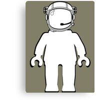 Banksy Style Astronaut Minifigure by Customize My Minifig Canvas Print