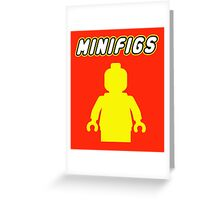 MINIFIGS Greeting Card