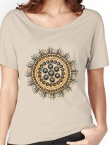 Cog of oranges and skyscrapers Women's Relaxed Fit T-Shirt