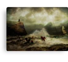 The Rescue Canvas Print