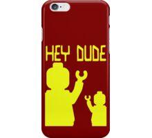 Minifig Hey Dude iPhone Case/Skin