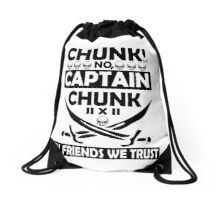 In Friends We Trust Drawstring Bag