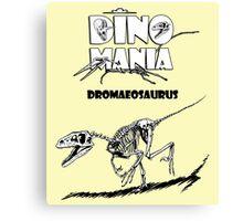 Dino Mania Dromaeosaurus Canvas Print