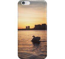 Greenwich sunset iPhone Case/Skin