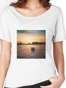 Greenwich sunset Women's Relaxed Fit T-Shirt