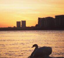 Greenwich sunset Sticker