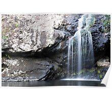 Rockpool Waterfall Poster