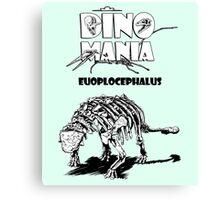 Dino Mania Euoplocephalus Canvas Print